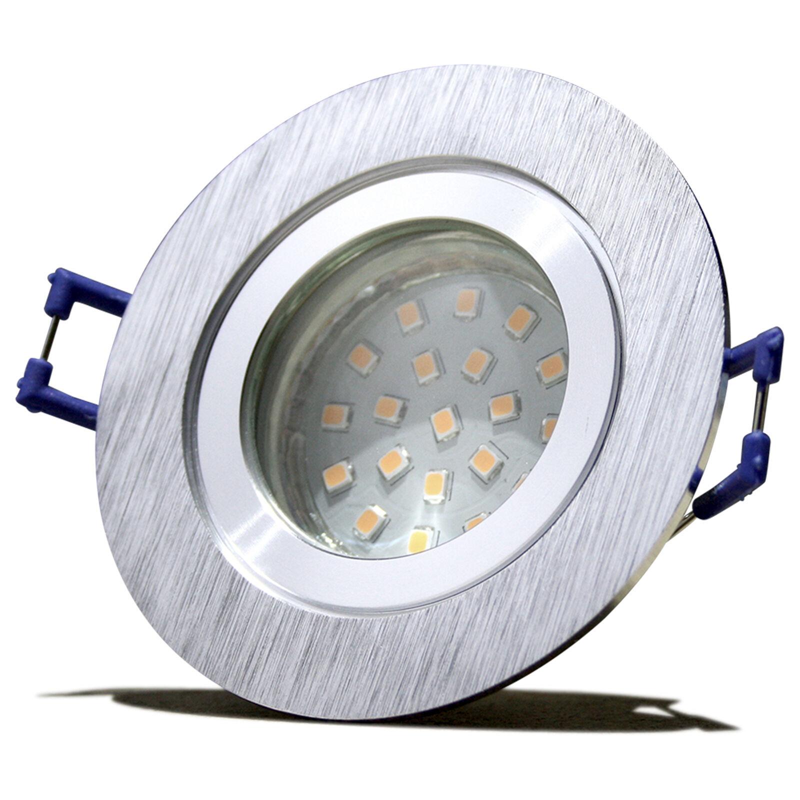 1- 10er Sets 7W60W SMD SMD SMD LED Bad Einbaustrahler Marina 230V   IP44   Feuchtraum       | Charmantes Design  | Elegante und robuste Verpackung  | Jeder beschriebene Artikel ist verfügbar  83cd6c