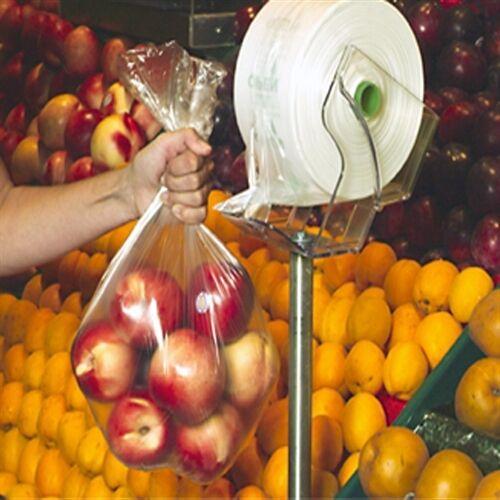 "3000 Produce Vegetable Fruit Bags 15/"" x 20/"" 4 Rolls Clear 0.280 mils"
