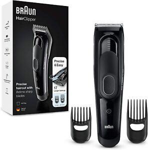 Braun-HC-5050-Maquinilla-Cortar-Pelo-Profesional-Cortapelos-con-17-ajustes