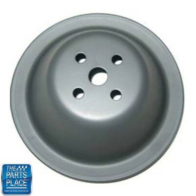 CSI C9604 Chrome Plated Steel Water Pump Pulley Upper Chevy Small ...