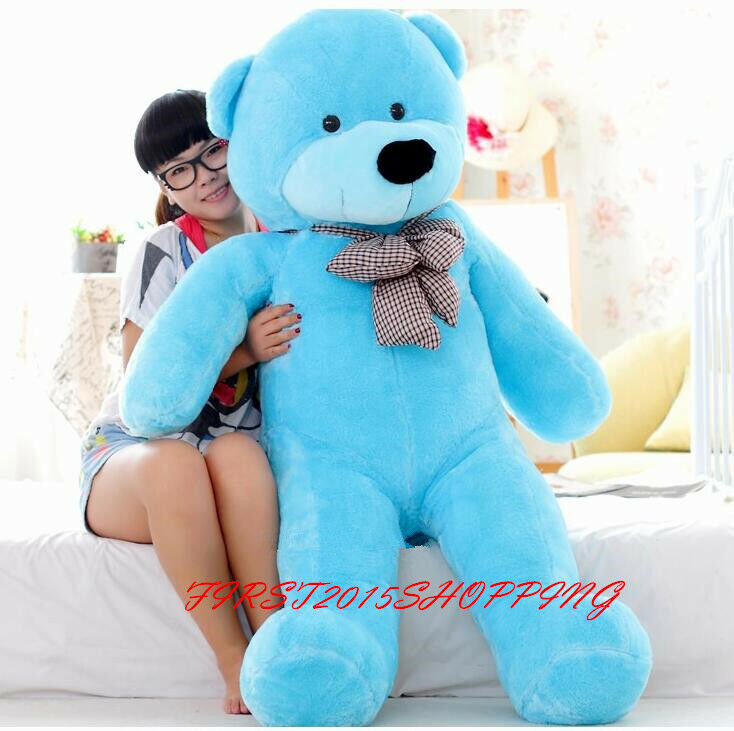 160CM Big Giant Girl Gift 63  TEDDY BEAR Soft Stuffed Plush Doll Toys GF Gift