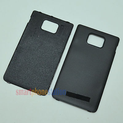 BRAND NEW HOUSING BATTERY BACK COVER DOOR FOR SAMSUNG GALAXY S2 i9100 #H70_BLACK