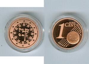 Portugal  1 Cent  PP/Proof  (Wählen Sie zwischen den Jahrgängen: 2005 - 2019)