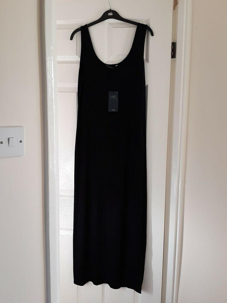 M&s Robe D'été Taille 12 Bnwt Extensible