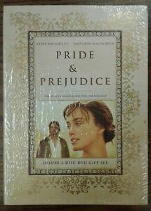 Pride-amp-Prejudice-Deluxe-2-Disc-DVD-Gift-Set-2005-Issued-2007-Sealed