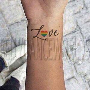 Gay and lesbian tattoo