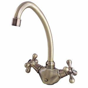 Wasserhahn Badezimmer Waschtisch Armatur retro Zweigriff nostalgie ...
