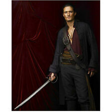 Orlando Bloom as Will Pirates of the Caribbean Holding Sword 8 x 10 Inch Photo