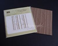 Stampin' Up Woodland Textured Impressions Embossing Folder