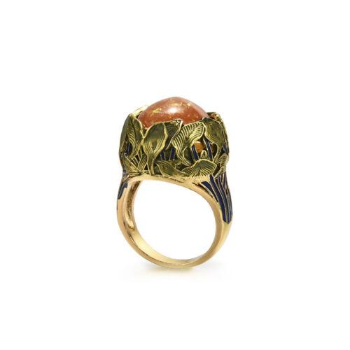 Femme Hommes Argent 925 Anneau opale de feu bijoux pierre de lune bague de mariage cadeau SZ 6-10