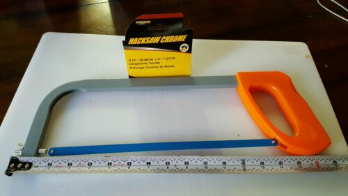 """Hacksaw with 12/"""" steel blade NEW"""