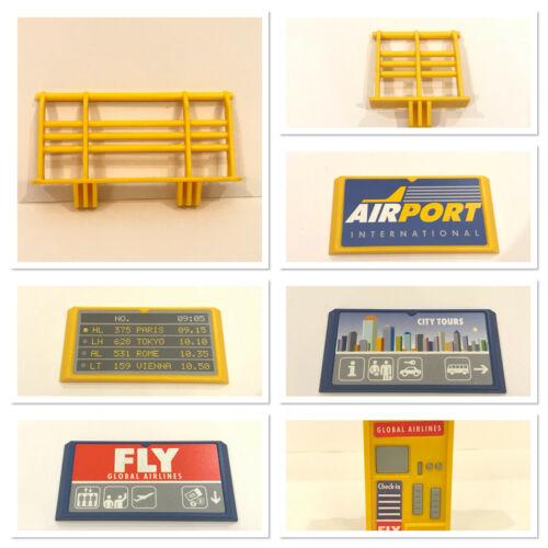 Playmobil 3186 Flughafen mit Tower Ersatzteile zum aussuchen Airport