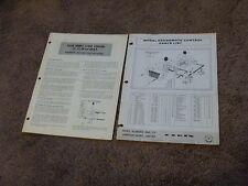 Elgin Outboard Motor 620 Remote Control Parts List Catalog Manual Installation
