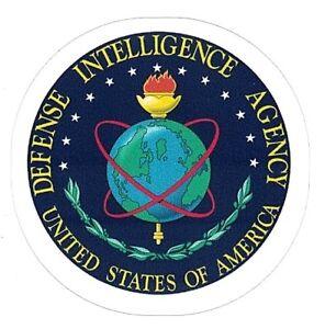 "DEFENSE INTELLIGENCE AGENCY STICKER ~ US DIA Logo Emblem 3"" Vinyl  NEW"