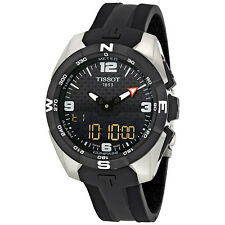 Tissot T-Touch Expert Solar NBA Speacial Edition Black Dial Mens Watch