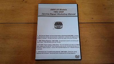 BMW TIS + WDS + ETK / EPC - Service Shop Repair Manual Set - Combo Pack ,,*.