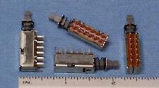 Lot Of 10 Alps Samwon 4 Pushbutton Switch 4pdt Momentary Non Latching