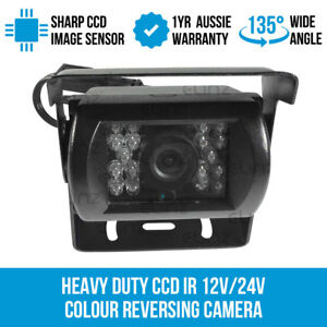 Heavy-Duty-CCD-IR-12V-24V-Colour-Reversing-Camera-Reverse-Rearview-Car-Elinz
