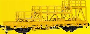 Kibri-HO-26262-VAGONE-senza-sponde-con-piattaforma-rotaia-NUOVO