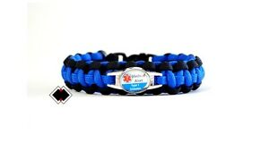 Image Is Loading Type 1 Diabetes Medical Alert Bracelet 550 Paracord