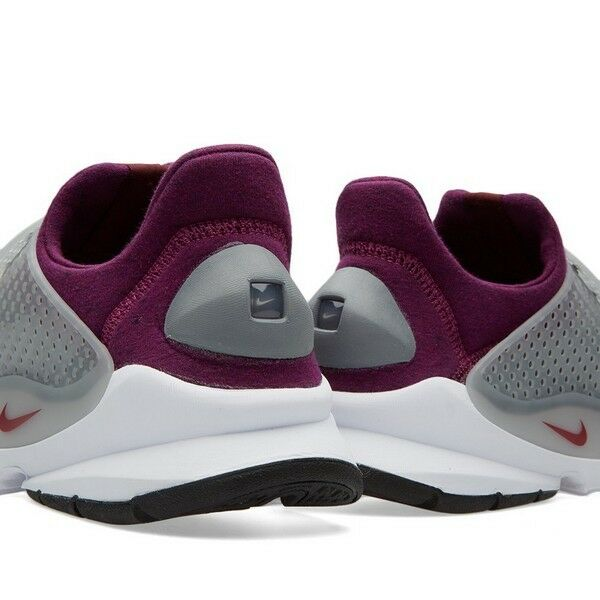 nike - dart - nikelab vlies grauen heather mulberry nikelab - 834669-006 9f9afa