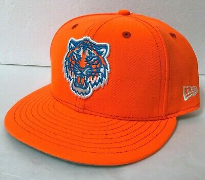 official site clearance sale recognized brands $36 DETROIT TIGERS HAT neon orange FITTED new era 59Fifty little ...