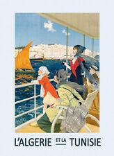Tlemcen Northwestern Algeria Flower Tourism Travel Vintage Poster Repro FREE S//H