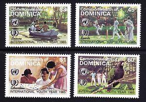 DOMINICA SCOTT# 901-904 MLH INTERNATIONAL YOUTH YEAR