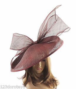 Burgundy-Large-Ascot-Hat-for-Weddings-Ascot-Derby-B7