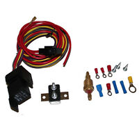 Heavy Duty Electric Fan Relay With Thermostat Hardware Kit 180 To 200