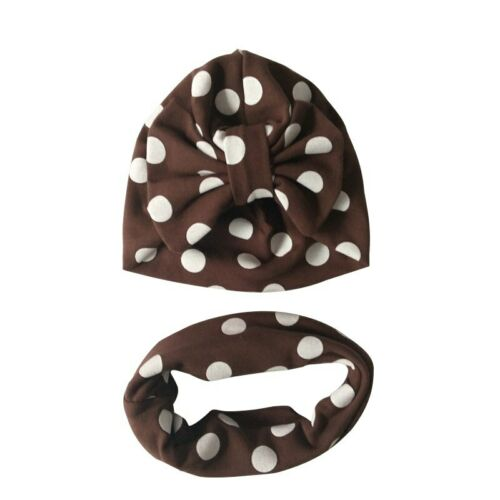 Baby Hat Cotton Big Bow Cap For Baby Girls Butterfly India Hat Scarf Set