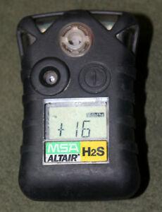 MSA Altair H2s Single Gas Detector!