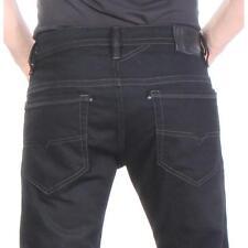 Thavar Z886 Slim Skinny Diesel Jeans Men Black Size 31/30