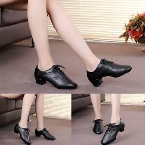 Sale Ballroom Latin Tango Dance Shoes Sole  Dance Practice Shoes UK Fast C5J2