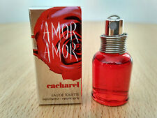 Cacharel Amor Amor for women 5 ml EDT MINI MINIATURE PERFUME NEW with vapo