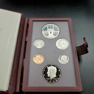 RobinsonsCoinTown 1986 S US Mint Prestige Proof Set OGP Box COA Silver Dollar
