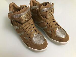 Michael Kors High Top Bling Sneakers