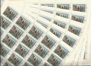 URSS-1987-5-Feuilles-n-5449-Tableau-de-A-N-Ossipov-Cote-137-50