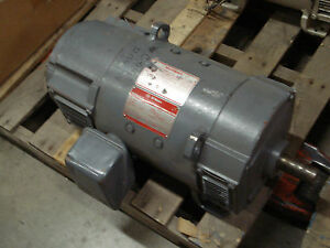 Ge dc motor 5cd153ja001b112 10hp 1750 2300rpm cd219at for Ge commercial motors 5kcp39fg