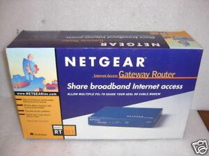 Netgear RT311 Internet Access Gateway Router In Box ...
