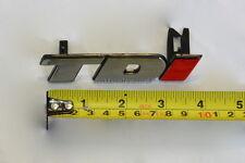 TDi GRILLE BADGE RED  I NEW FOR VW TRANSPORTER T4 96>04 GOLF MK3 92>98