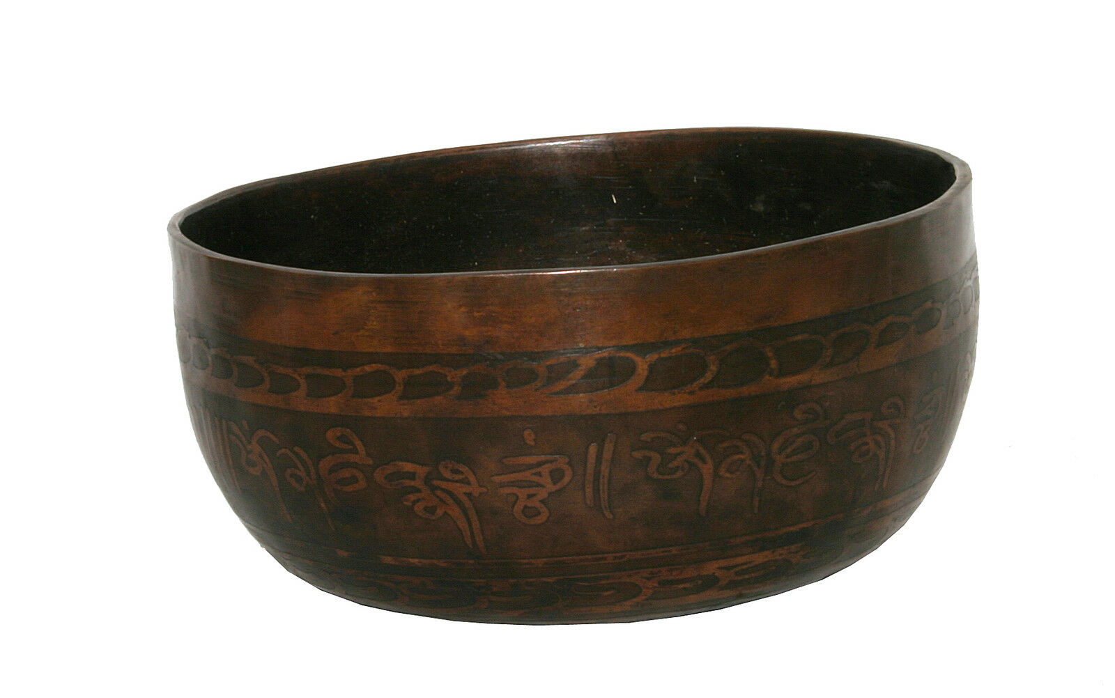 Klangschale Tibet Singing Bowl Klangtherapie Meditation  Hörprobe  475g MF2F