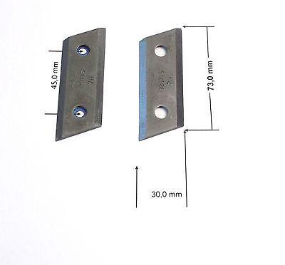 Top ALKO Wendemesser/ Ziehmesser Messer für Häcksler 2 Stück 320715 TI13