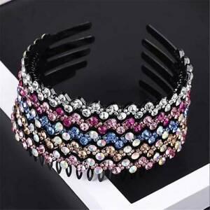 Sweet-Women-039-s-Crystal-Rhinestone-Headband-Hairband-Hair-Hoop-Hair-Accessories