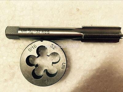 1pc HSS Machine 1 3//16-16 UN Plug Tap and 1pc 1 3//16-16 UN Die Threading Tool