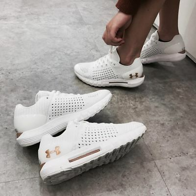 buy popular 94a8d ad791 Under Armour HOVR Sonic Running Shoes - White/Gold - Men's Size: 7-15   eBay