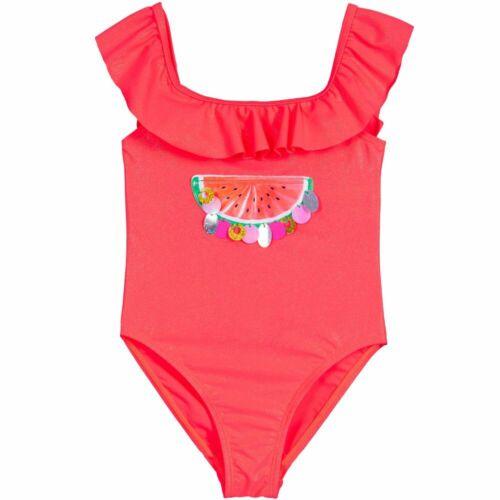 Billieblush Neon Rose Ruffle Maillot de bain taille 2yrs 4yr 5yrs U10308-499 3yrs