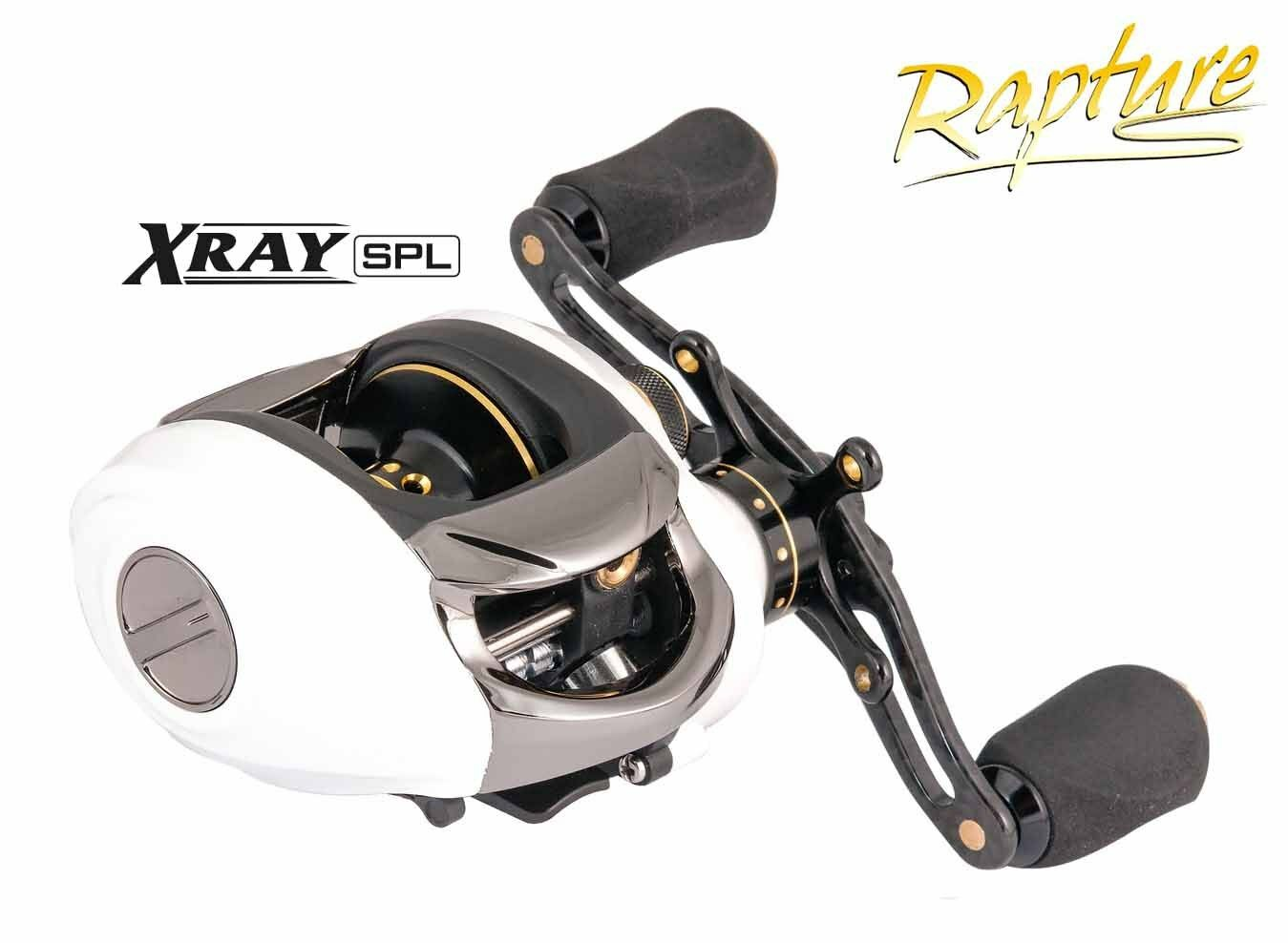 03185700 Mulinello Rapture X-Ray SPL 10 Bb Bait Casting Pesca Spinning Spinning Pesca RN 1a741c