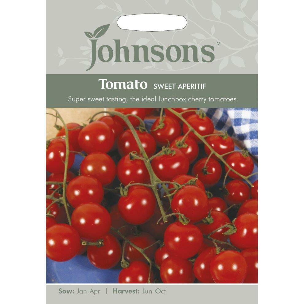 Johnsons Tomato Seeds Sweet Aperitif Sweet Cherry Tomatoes Ideal For Lunchbox