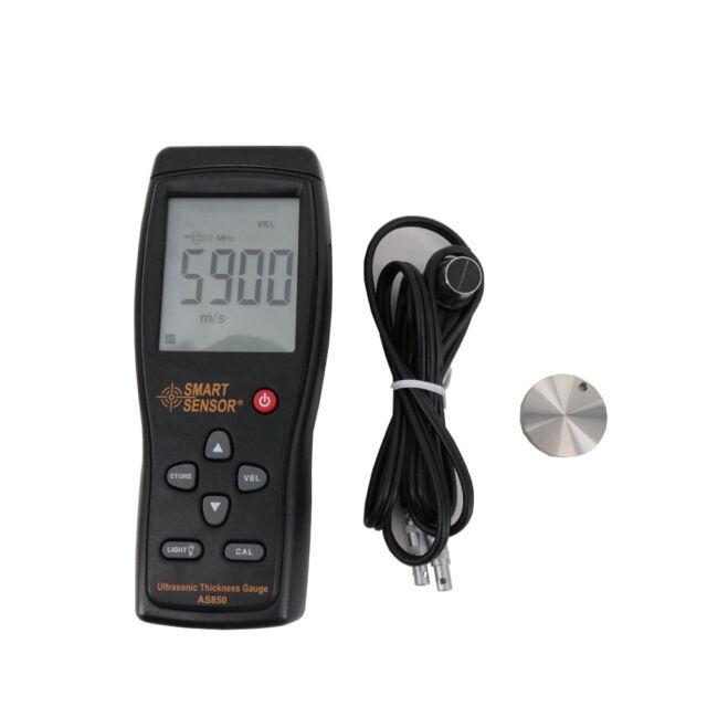 1PC AS860 Smart Sensor Ultrasonic Thickness Gauge Measuring range:1.0 to 300mm